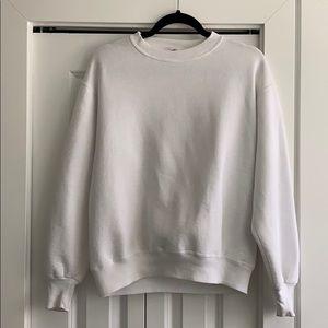 Vintage White crewneck sweater